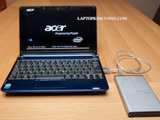 Laptop Acer Aspire One ZG5 (laptop mini)
